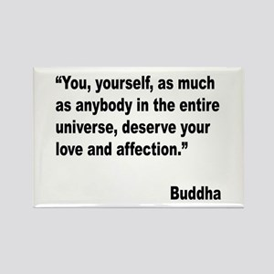Buddha Love Quote Rectangle Magnet